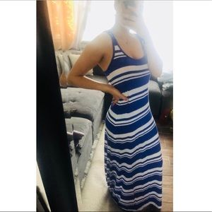 Dresses & Skirts - Striped maxi summer dress